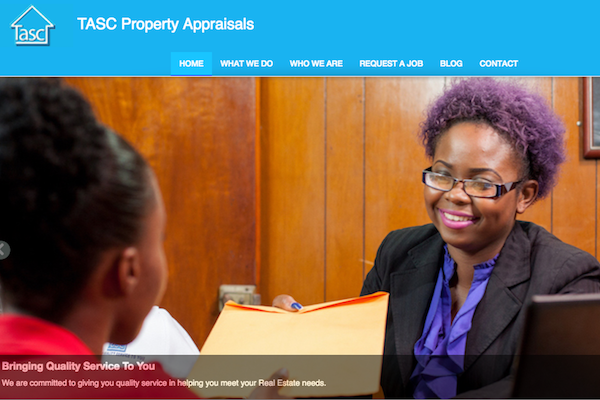TASC Property Appraisals Corporate Website